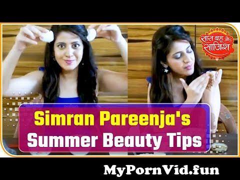 View Full Screen: actress simran pareenja shares summer beauty tips 124 saas bahu aur saazish.jpg