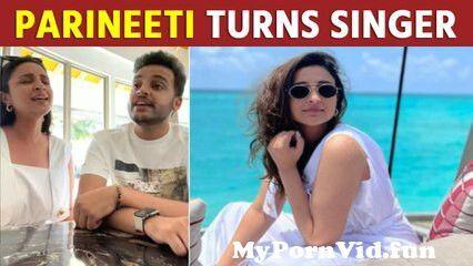 Parineeti sings 'Kalank' title track with brother Shivang Chopra from sreya jayadeep nude Video Screenshot Preview