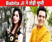 Mummun Dutta aka Babita Ji of TMKOC has slammed media and public over the rumours of her affair with Raj Anadkat.