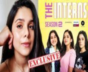 Lehren's exclusive with actor Rashmi Agdekar as she talks about 'The Interns Season 2', her co-stars Ahsaas Channa & Revathi Pillai and her journey in the entertainment world so far!