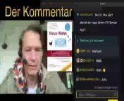 Alles ausser Mainstream: Boschimo des Tages vom 01.06.2021<br><br>Viruswahn - Der Kommentar<br><br>YouTube Zweitkanal: <a href=\